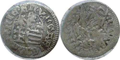 1458-1490 Hungary Matthias Corvinus Silver Denar Madonna And Child