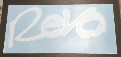 "Abu Garcia Revo 8"" Vinyl Decal (Choose (Revo Color)"