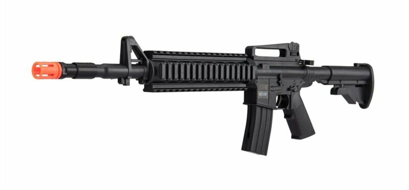 New Black 24 Inch 3/4 Scale Spring Power Airsoft Gun 6mm Rifle with BBs