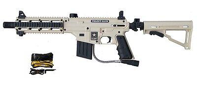 REFURBISHED Tippmann US ARMY Alpha Black Project Salvo Paintball Gun Marker Tan