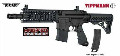 Tippmann TMC MAGFED Paintball Marker - Black 16402