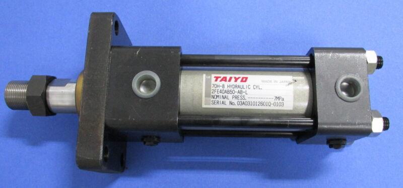 TAIYO 70H-8 HYDRAULIC CYLINDER 2FE40AB50-AB-L *PZB*