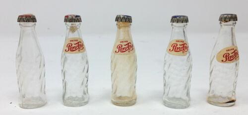 Miniature Pepsi bottles