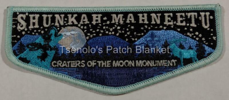 Shunkah Mahnteetu Lodge 407 2016 Jamborall Craters of Moon Nat Parks Centennial
