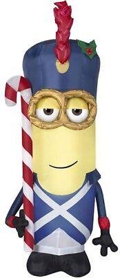 Gemmy Despicable Me Vive le Minion Soldier 3.5' Airblown Inflatable Christmas - Inflatable Minion Despicable Me