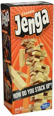 Jenga Classic Game  Simple Solid   Timeless  Skill Strategy   Luck  Challenging