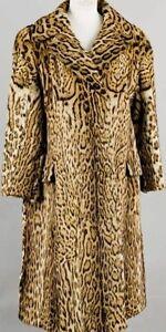 Manteau de fourrure pour femme en ocelot