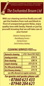 Domestic cleaning services in Leeds area