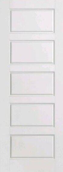Internal premdor 5 panel smooth door