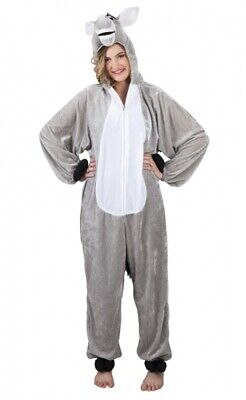 Boland Anzug für Erwachsene Esel Plüsch Größe M