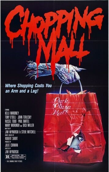 CHOPPING MALL Movie Poster B Horror 80's