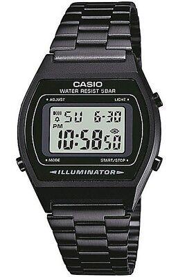 Casio B640WB-1AEF Unisex Retro Collection Digital Black Watch