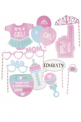 LG-Imports fotokabine Dekorationen Baby Dusche Mädchen 8 Stück