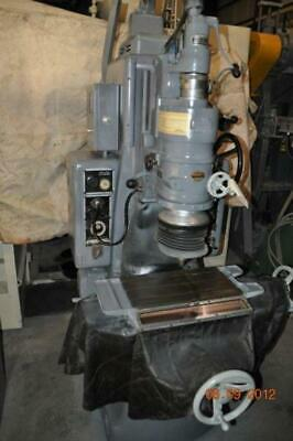 No. 2 Moore Jig Grinder 10 X 19 Table Hand Feed Auto Feed 40000 Rpm Head 440