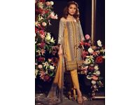 Khaadi, yellow asian suit, mastercopy, pakistani clothing