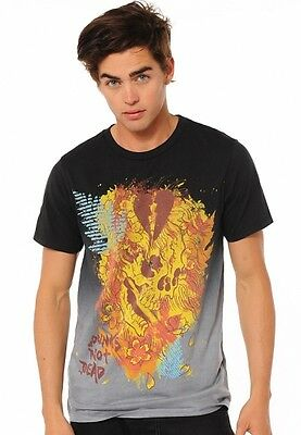 Ed Hardy Beautiful Ghost (Ed Hardy Beautiful Ghost Specialty Tee New 3xl A1BBCMZY Black)