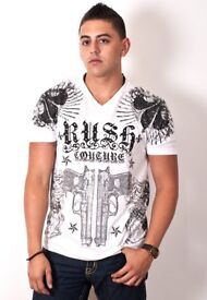 Rush Couture T shirt size L