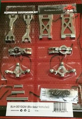 Redcat Racing Aluminum Hop Up Kit for Blackout XT,XB,SC Front or Rear BLH-0010GM