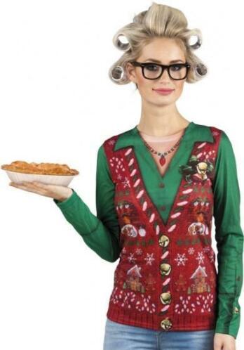 Kersttrui Dames Blauw.Boland Kersttrui Corny Christmas Dames Maat M Speelgoed