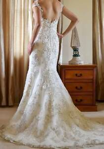 MAGGIE SOTTERO ETIENNE WEDDING DRESS ONLY WORN ONCE Ryde Ryde Area Preview