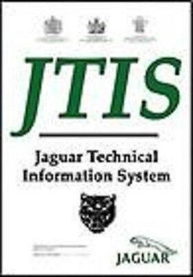 Jaguar Xj  Xk  S Type  X Type Jtis Workshop Manual  Service Repair Manual Dvd