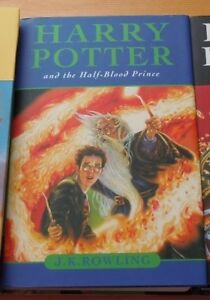 Harry Potter book, hardcover version