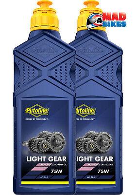 Putoline 2 Stroke Light Gear Box Oil, KX, CR, RM, YZ, KTM, 65, 85, 125, 250 2Ltr