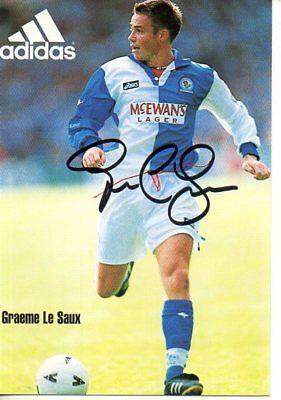 Autogramm - Graeme Le Saux (Blackburn)