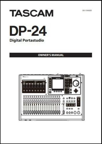 Tascam DP-24 Digital Portastudio Owner