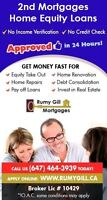 Low Income/Bad Credit - Home Equity Loans & 2nd Mortgages