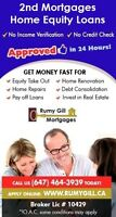 Home Equity Loans & Mortgages for Bad Credit & Self Employed