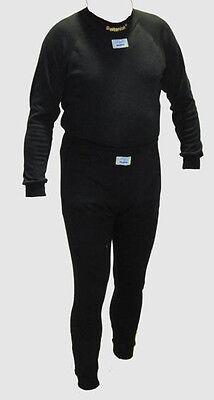 FIA Unterwäsche Set Beltenick uni schwarz FIA 8856-2000 - Größe XL Rayomid