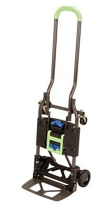 Multi-position Heavy Duty Folding Hand Truck Dolly Easy Use - Quick Conversion
