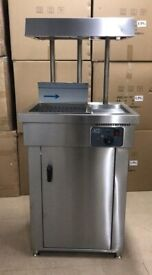 Commercial Free Standing Chip Warmer / Scuttle