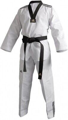 adidas taekwondopak ADI-Club 3 Dobok unisex schwarz / weiß Größe 130