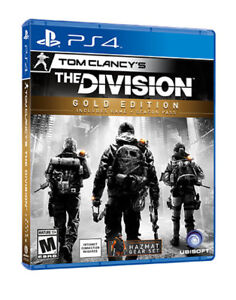 PS4 Games (Division Gold, MGS5, EDF 4.1, Lords of the Fallen)