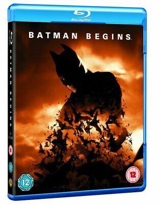 Batman Begins Blu-ray DVD Movie/ Film With Extra/ Special Features (SEALED)