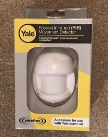 2X YALE HSA6020 PIR DETECTOR BRAND NEW security alarm home