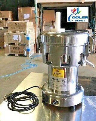 New Commercial Juicer Extractor Machine Ujc370eauto Feed Orange Squeezer Nsf