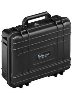 B&W OUTDOOR Hard Case Type 10, Strong,Light, 4Ltr Volume Black Foam Insert