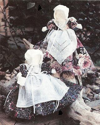 New Pattern Easy To Make Handkerchief Doll / Church Doll - $9.00