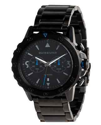 montre quiksilver watch black noire KOMBAT CHRONO METAL EQYWA03021-KVJ0