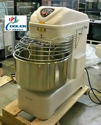 New 80 Quart Spiral Mixer Machine Rpm Speed Bakery Kitchen Equipment Smx80