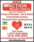 Action Auto Parts and Salvage
