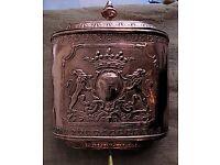 Antique French Copper Fountain for Garden or Home Decor.