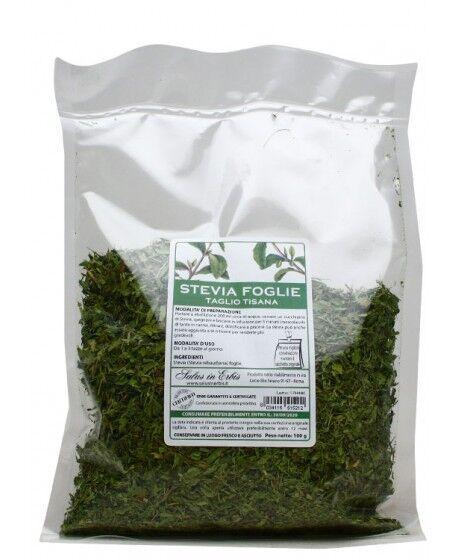 STEVIA foglie taglio tisana 100 g - Salus in erbis -