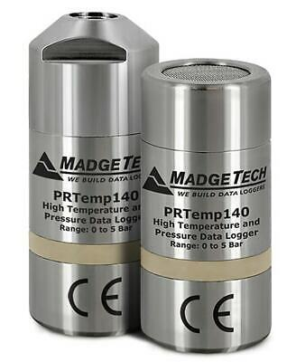 Madgetech Prtemp140-lvl High Temperature And Pressure Data Logger