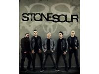 X 1 ticket for Stonesour gig (Birmingham)