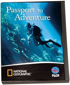 PADI National Geographic Scuba Diving DVD