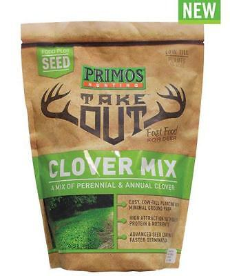 Primos Take Out Clover Mix 3 lb Food Plot Seed 58581